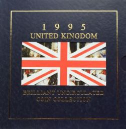 1995 Brilliant Uncirculated Coin Collection for sale